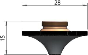 Двойное сопло Ø 1.4 CP