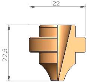 Сопло S14 Ø 1.4