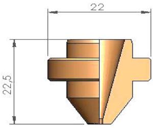 Сопло S17 Ø 1.7
