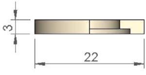 Керамический диск (защита) Ø 22
