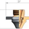 Двойное сопло D3F Ø 2.5 SPECIAL CP