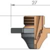 Двойное сопло ACB Ø 2.5 SPECIAL CP