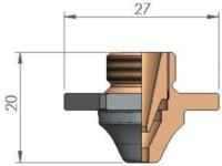 Двойное сопло ACB Ø 4.0 SPECIAL CP