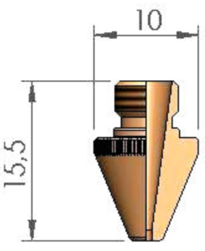 Сопло Ø 1.5 TCL
