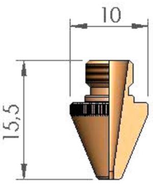Сопло Ø 2.5 TCL