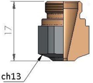Сопло Ø 2.5 HD CP