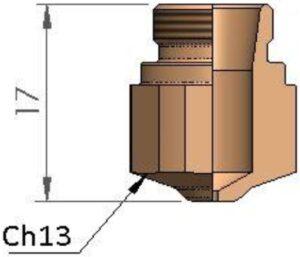 Сопло Ø 1.75
