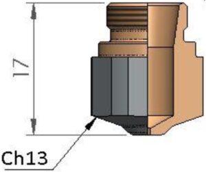 Сопло Ø 2.5 CP