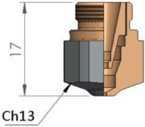 Двойное сопло Ø 1.75 CP