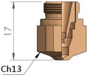 Двойное сопло Ø 1.75