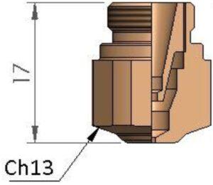 Двойное сопло Ø 1.25