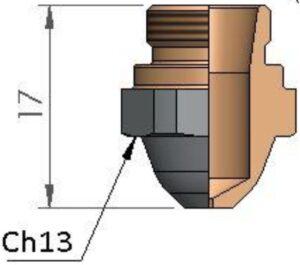 Сопло Ø 1.75 CP
