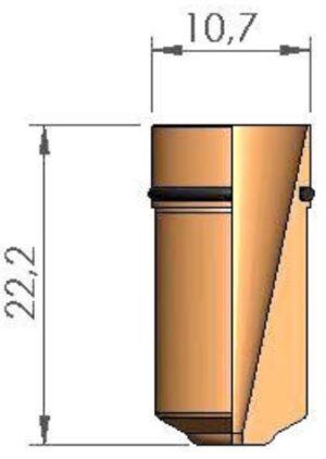 Сопло Ø 2.0 с уплотнительным кольцом